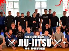 РЕЗУЛЬТАТЫ ТУРНИРА SUBMISSION ONLY JIU-JITSU NO GI TOURNAMENT